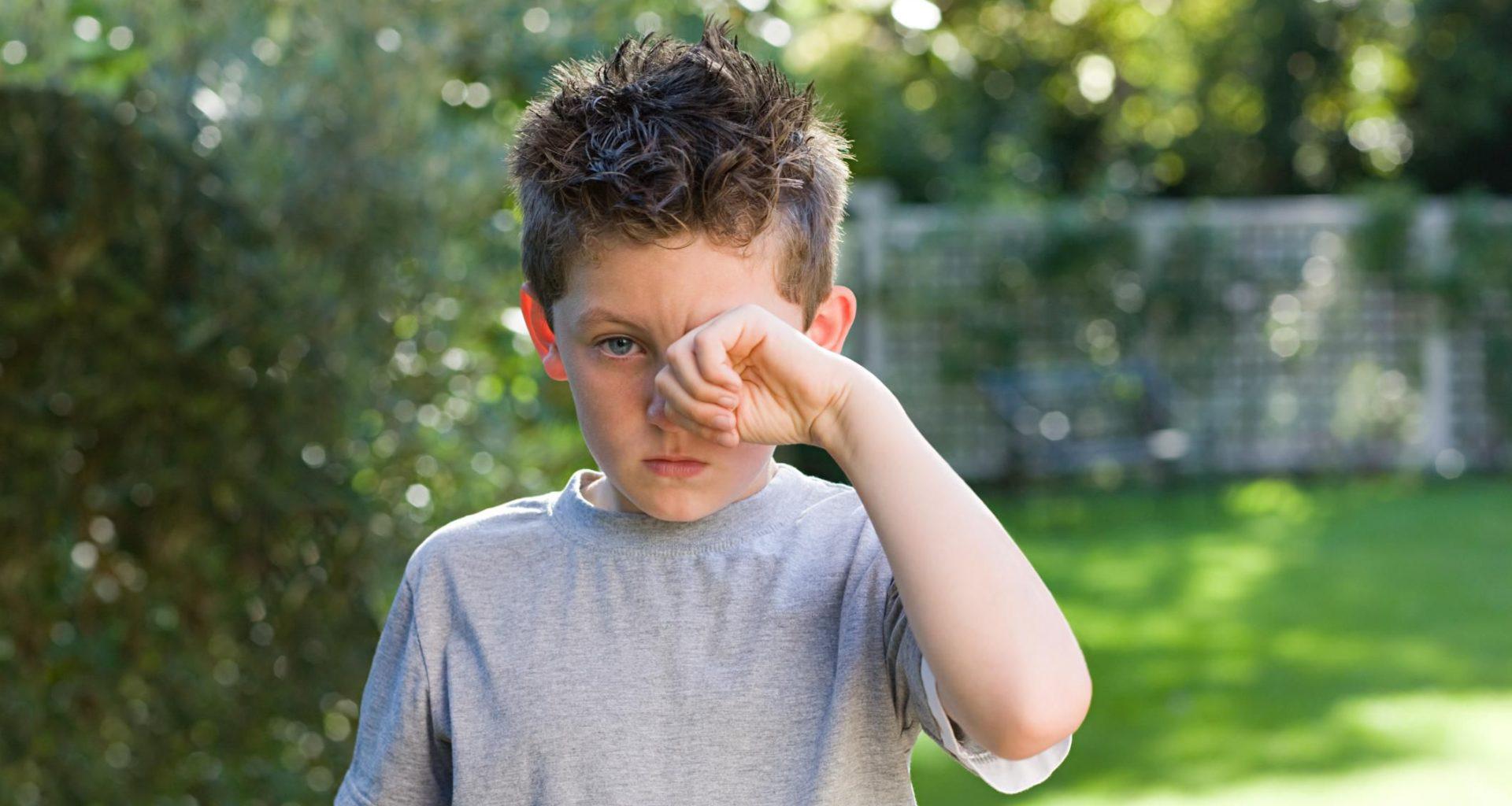 конюнктивит у ребенка