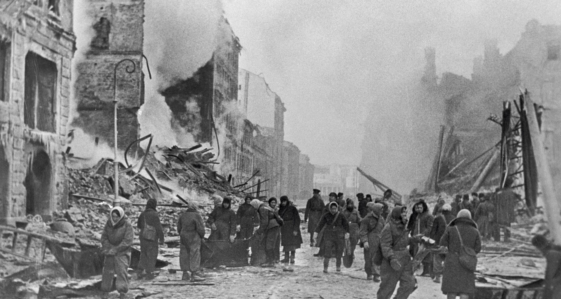 Ход событий от начала захвата Ленинграда до полного освобождения города