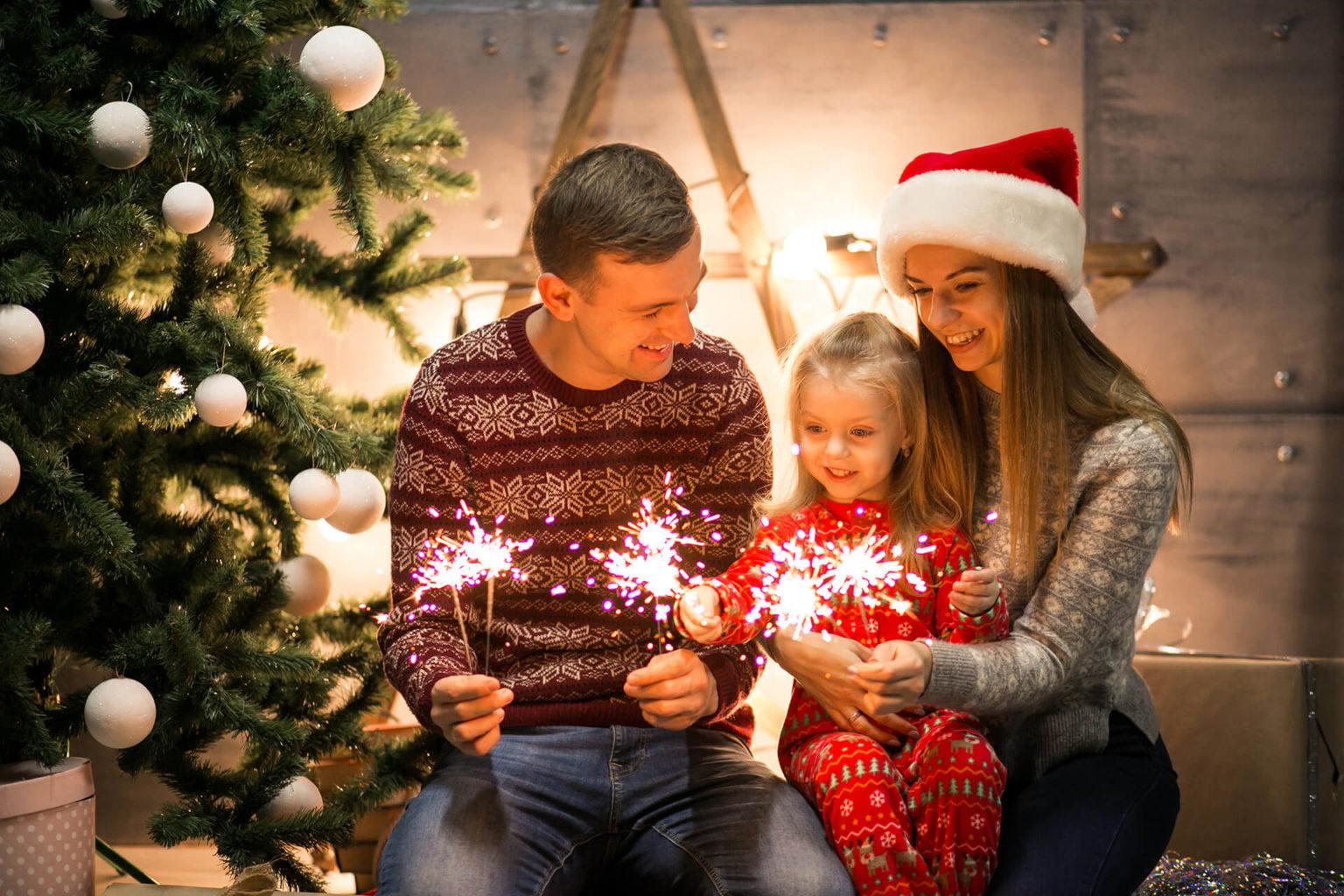Чем заняться с ребенком на новогодних каникулах
